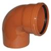 Отвод для наружной канализации 160 мм угол 87°(90°)