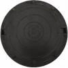 Люк полимерно-композитный садовый d-750 мм 1 т черный