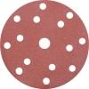 Диск шлифовальный перфорированный под липучку 125 мм (Р240) FIT (5 шт)