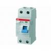 Выключатель дифференциального тока (УЗО) 2п 25А 30мА тип AC F202 ABB 2CSF202001R1250