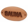 """Табличка """"SAUNA"""" 950-D SAWO"""