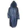Дождевик-плащ нейлоновый синий XL (в сумке)