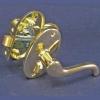 Ручка защелка 257 РВ (золото) ТП00076441