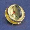 Завертка 0350 ВР золото 55мм (ручка поворотная чёрная) ТП00266970