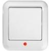 Выключатель 1-кл. ОП Прима 6А IP20 250В с подсветкой бел. (опт. упак.) SchE A16-046-B