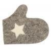 Рукавица для сауны Банные штучки-41136 Звездочки, 4 цвета, войлок