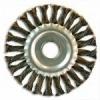 Щетка-крацовка дисковая витая для УШМ 100 мм посадка отверстие 16 мм мм BIBER