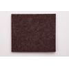 Подкладка (пункт) для мебели фетровая самоклеющаяся 36х22 мм коричневая (12 шт)