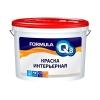 Краска полиакриловая интерьерная Formula Q8 Престиж белая 3 кг
