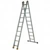 Лестница 2-х секционная Алюмет (2х10 ступеней)