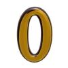 "Цифра дверная ""Trodos"" ""0"", золото"