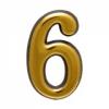 "Цифра дверная ""Trodos"" ""6""и""9"", золото"