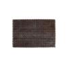 Коврик-щетинка 45х60см SUNSTЕР темно-коричневый