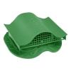 Вентиль кровельный для металлочерепицы зеленый (в сборе)