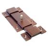 Засов дверной плоский (медь) L-150мм