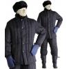 Куртка утепленная черная рост 176