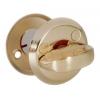 Завертка  0360 SВ матовое золото 55 мм  (металл. ручка)