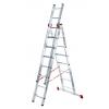 Лестница 3-х секционная Новая Высота NV123 (3х8 ступеней)