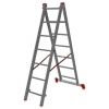 Лестница 2-х секционная Новая высота NV100 (2х7 ступеней)