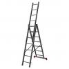 Лестница 3-х секционная Новая высота NV100 (3х7 ступеней)