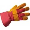 Перчатки спилковые комбинированные утепленные 20013864