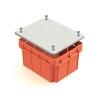 Коробка распределительная (распаячная) СП 120х92х70 мм оранжевая с белым TDM ЕLECTRIC