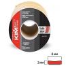 Уплотнитель  KIM TEC 8*2 mm SD  -31А/4, коричневый