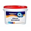 Краска полиакриловая фасадная Formula Q8 Престиж белая 3 кг