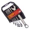 Набор ключей рожково-накидных, 6 предм. 8-17мм, матовые CRV холодный штамп, холдер 736-022 ЕРМАК