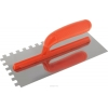 Кельма-гладилка зубчатая 280х130 мм зуб 6х6 мм нерж. сталь Курс