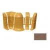 Набор комплектующих для плинтуса Идеал Комфорт дуб капучино