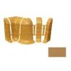 Набор комплектующих для плинтуса Идеал Комфорт вишня