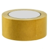 Скотч двусторонний полипропиленовый желтый, 48 мм (25 м)