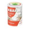 Эмаль акриловая глянцевая KRAFOR супербелая 1 кг