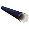 Труба двухслойная ПЭ 160/136 мм (6 м) с раструбом черный SN8
