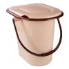 Ведро-туалет 17л бежевый (Альтернатива)