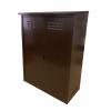 Шкаф для газовых баллонов (на 2 баллона разборный) коричневый