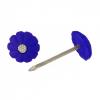 Гвозди с декоративной шляпкой 1.4х25 мм синий (50 шт) Стройметиз