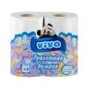 Бумага туалетная ВИВА двухслойная (4 шт.)