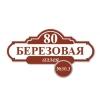 Табличка адресная №30.3 300х600