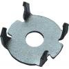 Крепеж для плинтуса Зуб оцинкованный (10 шт) Крепстандарт
