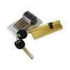 """Механизм цилиндровый """"Евродверь"""" 105мм(32,5х72,5) перекодируемый, 2+5 ключей, латунь"""