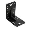 Уголок крепежный 90° усиленный 2х55х70х70 мм (черный) Крепстандарт