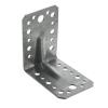 Уголок крепежный 90° усиленный 2х55х70х70 мм (серебряный) Крепстандарт