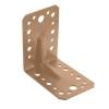 Уголок крепежный 90° усиленный 2х65х90х90 мм (бронзовый) Крепстандарт