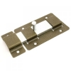 Задвижка дверная ЗД-02 плоский засов, бронза Металлист