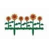Забор декоративный Цветник №2 пласт. 0,62*0,29м 6 секций АЛЬТЕРНАТИВА М615