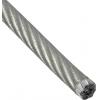 Трос стальной 6/8 мм DIN 3055 (в ПВХ оболочке) цинк Крепстандарт