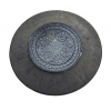 Люк полимерно-песчаный конусный d-1070 мм 1,5 т черный