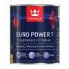 Краска моющаяся интерьерная Tikkurila Euro Power 7 база С белая база С 0.9 л